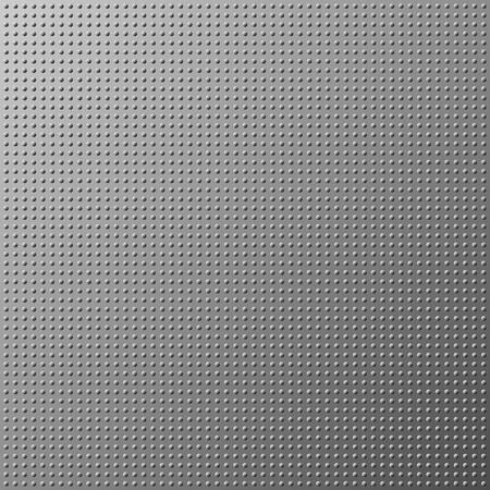 titanium: Metal dot texture gray background. Vector illustration