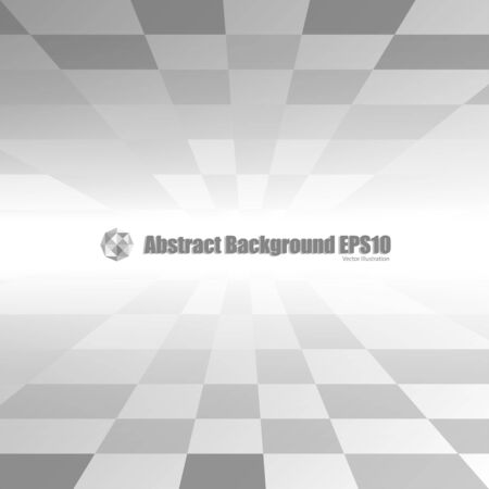Gray abstract perspective background