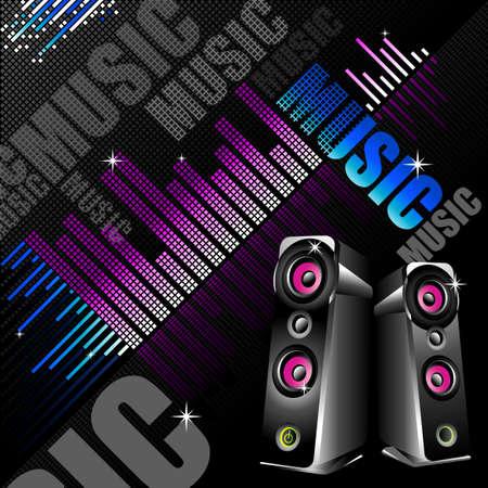 sound system: Si est�n con el objetivo de dise�ar algo acerca de m�sica, sistema de sonido o incluso parte de DJ, creo que es adecuado para este tipo de anuncios.