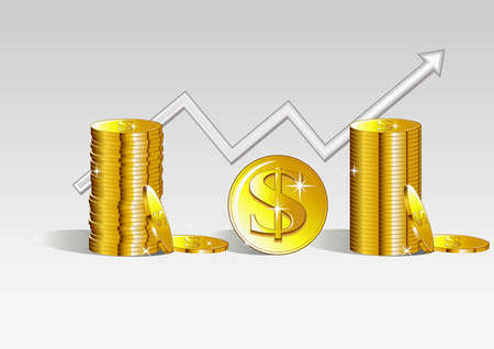 bourse: Very good contents useful in the business and financial designs Illustration