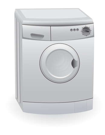 The washing machine Vector