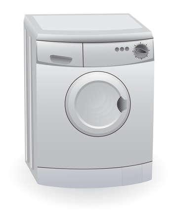 The washing machine Vector