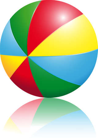 children's: multi-coloured children s ball