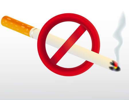 exclude: Cigarette Illustration