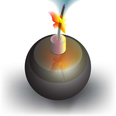 munition: bomb icon with a burning wick