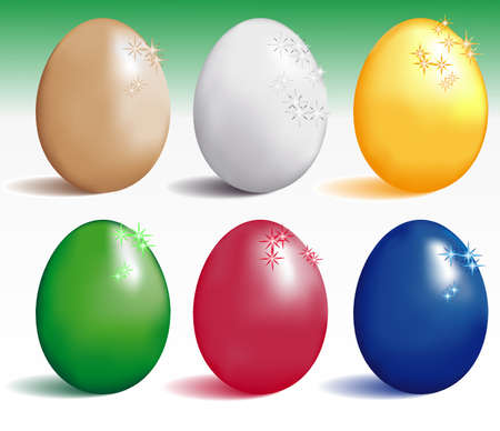 reproduce: eggs, color variants , for various use