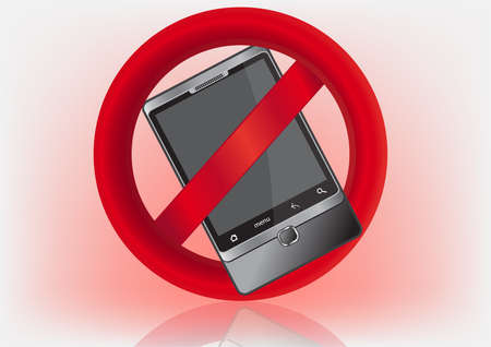 interdiction telephone: signe-pas de t�l�phone cellulaire