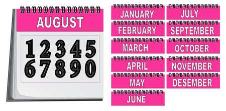 calendar Stock Vector - 13880660