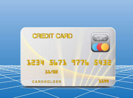 Credit card icon Stock Vector - 16685595
