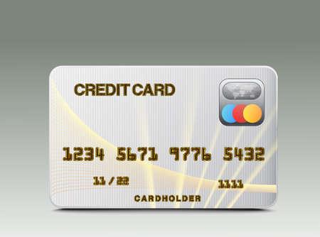Credit card Stock Vector - 16685587