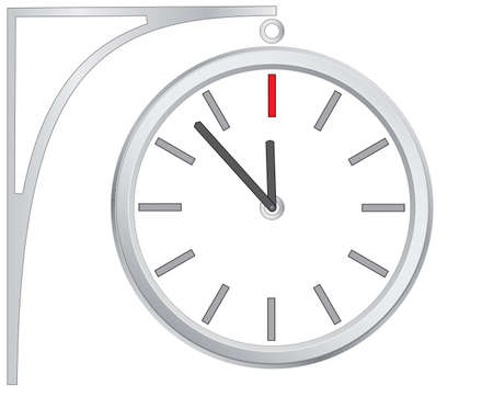 icon clock, vector Stock Vector - 16921603