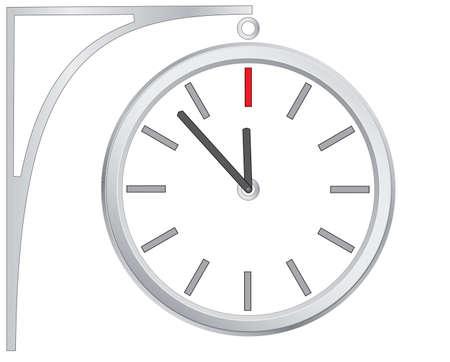 icon clock, vector Stock Vector - 16921603