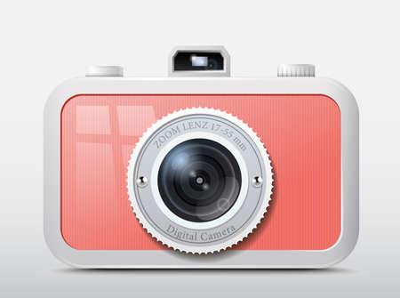 Icon of the original camera, vector variant Stock Vector - 17345417
