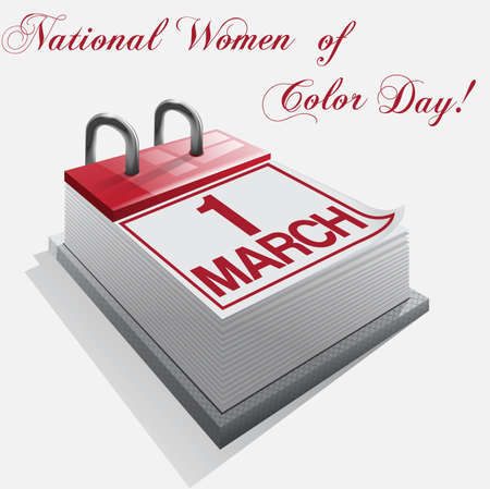 national women of color day: calendar 1 March National Women of Color Day