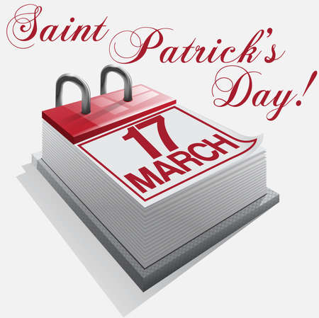 march 17: calendar17 March Saint Patricks Day