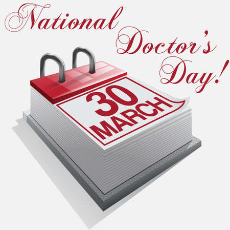calendar 30 March National Doctors Day
