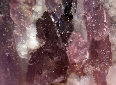 halide: Crystals. Extreme closeup
