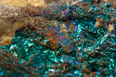 mineralogy: Crystal,nugget, gold, bronze, copper, iron  Macro