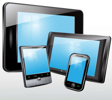 software portability: Electronic technics, tablet, mobile phone