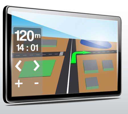 GPS navigation Stock Vector - 20433529