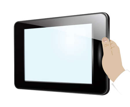 portability: Tablet in hand