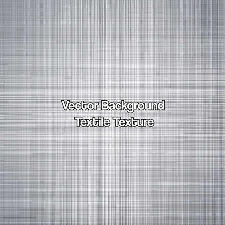 Textile texture grey. Vector