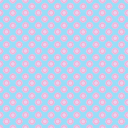 Seamless the sun pattern for background. Vector. Seamless texture can be used for Your design