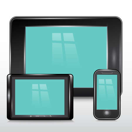 portability: Tablet , Mobile Phone.Vector