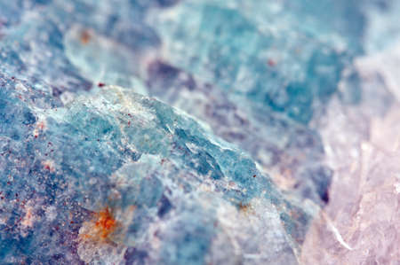 Amazonite (K,Na)AlSi3O8 (sometimes called Amazon stone) is a bluish-green variety of microcline feldspar.   Macro. Beautiful fantastic background for successful business projects and other Your variant.