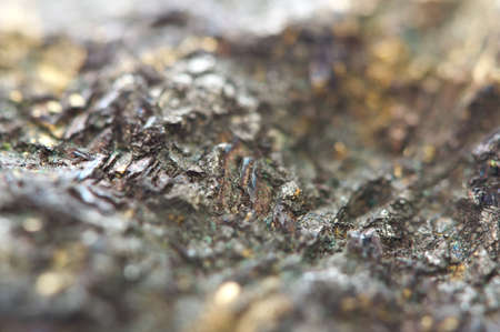 sulfide: Chalcocite, copper(I) sulfide (Cu2S), is an important copper ore mineral. It is opaque and dark-gray to black with a metallic. It is a sulfide with an orthorhombic crystal system. Macro.