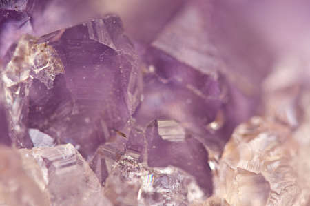 amethyst rough: Amethyst is violet variety of quartz often used in jewelry  Stock Photo