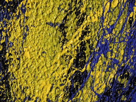 abstract strokes of oil paints, texture paints Banque d'images