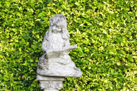 attraktion: Statue In The Park Stock Photo