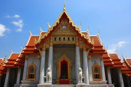 Beautiful Thai Temple temple in Bangkok photo