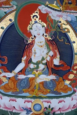 Tibet painting Stock Photo - 16869253