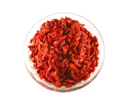 wolfberry: goji berries  wolfberry