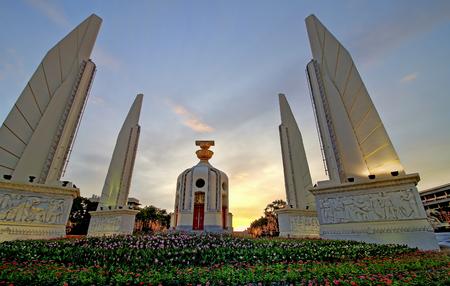 democracy Monument: Democracy Monument Bangkok Thailand Editorial