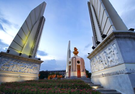 democracy Monument: Democracy Monument Bangkok Thailand Stock Photo