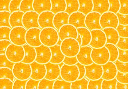 Half of orange  background