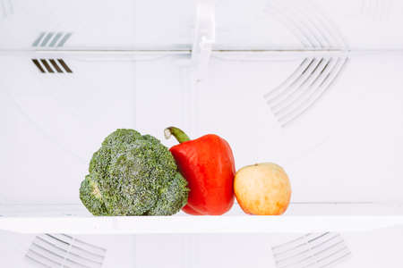 Refrigerator of healthy fruits and vegetables