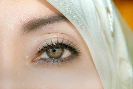 womankind: Muslim Women Look Directly Into The Camera