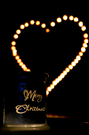 merry xmas: Merry X-mas decoration  Stock Photo