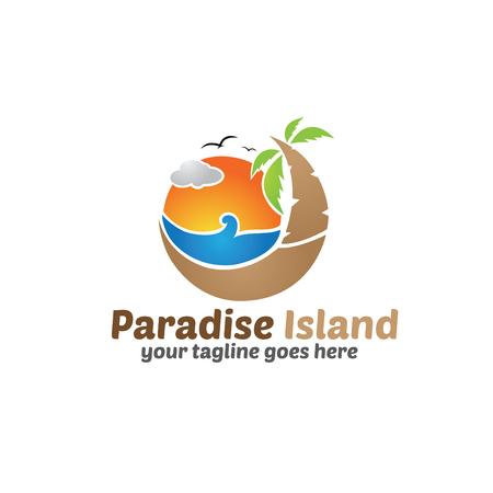 island paradise: Paradise Island Template