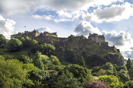Edinburgh Castle in the afternoon Sun, Scotland