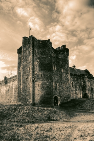 Castle in Scotland main location shoot for Game Of Thrones and Monty Python and the Holy Grail was filmed. photo