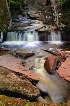 Mysteus Waterfall in the Scottish Highlands Stock Photo - 18375374