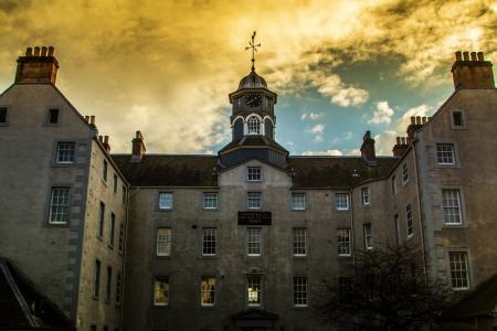 Een oude Psychiatrisch ziekenhuis in Perth Schotland