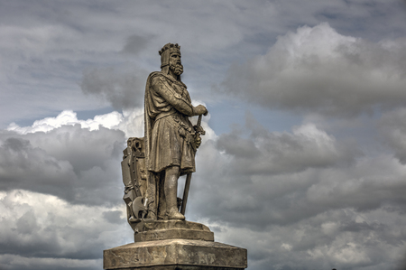 robert bruce: Robert the Bruce statue in Stirling