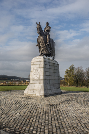 robert bruce: Robert The Bruce King of Scotland Stock Photo