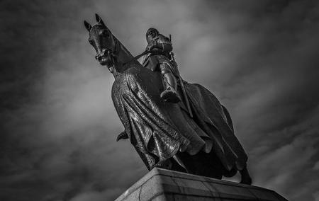 Robert the Bruce on a Horse